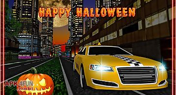 Halloween party taxi driver