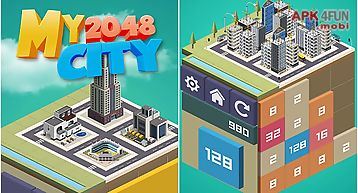 My 2048 city: build town