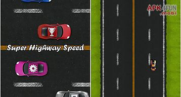 Super highway speed: car racing