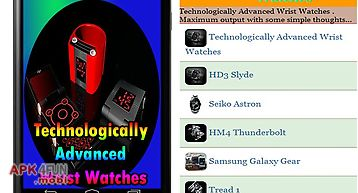 Technologically advanced wrist w..