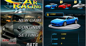 Car racing: fast and speed