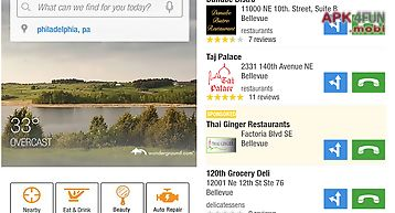 Yellow pages local search