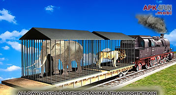 Animal transport train