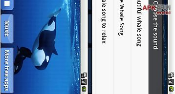 Whales songs to sleep
