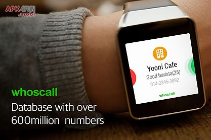 whoscall wear - android wear