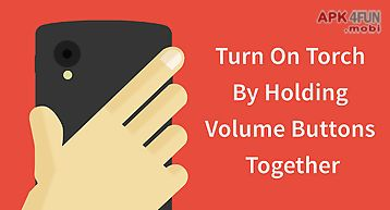 Torchie - volume button torch