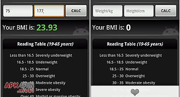 Bmi calculator (free)