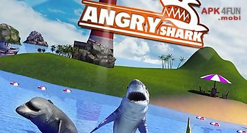 Angry shark: simulator 3d