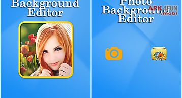 Photo background editor