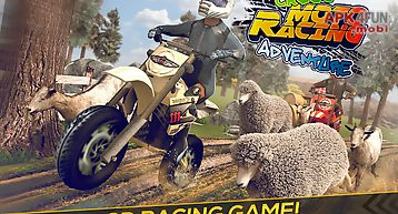 Cross moto racing adventure