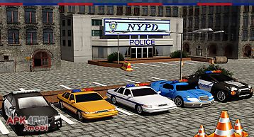 Drive & chase: police car 3d