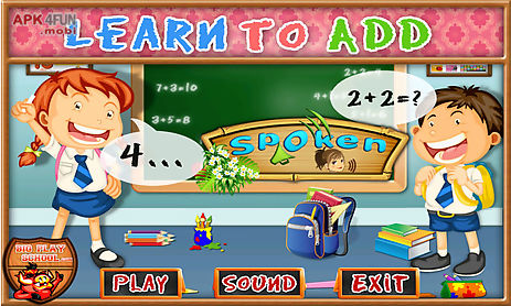 free e-learning for kids - learn to add