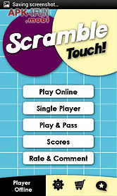 scramble touch
