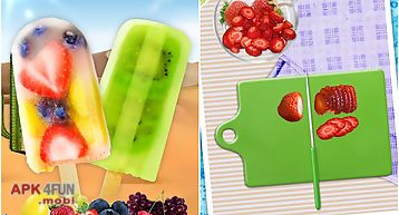 Ice pops & popsiclse maker