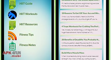 Hiit - workout training guide
