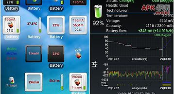3c battery monitor widget