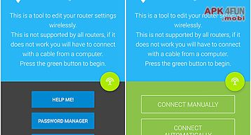 Router settings and setup