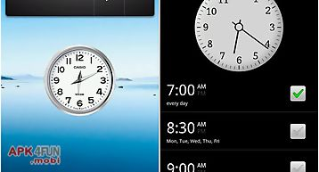 Watch widget gio clock