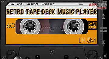 Retro tape deck music player