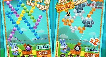 Bunny bubble shooter - easter