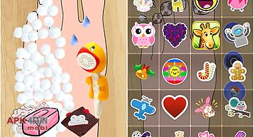 Foot spa magic game for kids