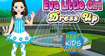 Girl games: little eva dressup