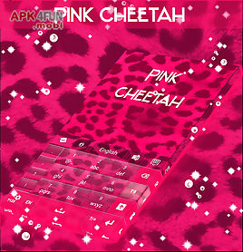 pink cheetah go keyboard