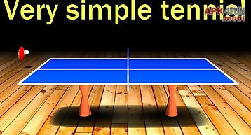 Simple table tennis: 2d gameplay