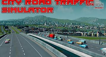 City road traffic simulator