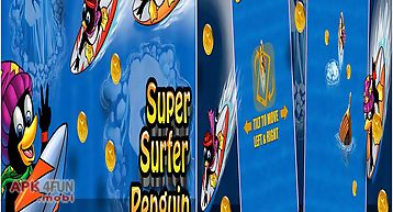 Super surfer penguin