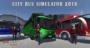 City bus simulator 2016
