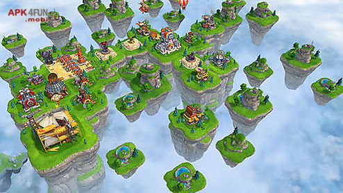 sky clash: lords of clans 3d
