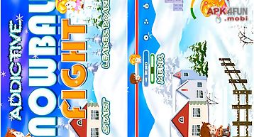 Addictive snow ball fight gold