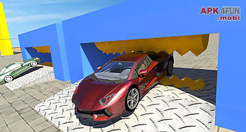 Racing sports car simulator