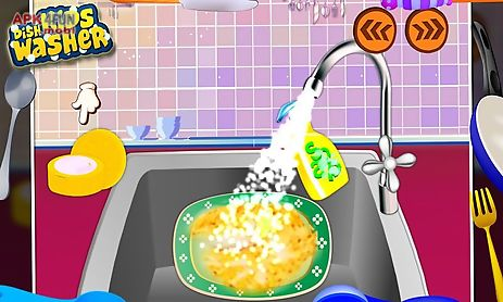 kids dish washer - kids game