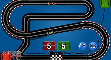 Slot car race