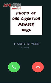 call from harry styles prank