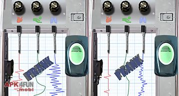 Lie detector simulated