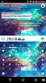 star galaxy emoji keybaord