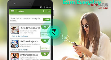 Only earn - get free recharge for Android free download from