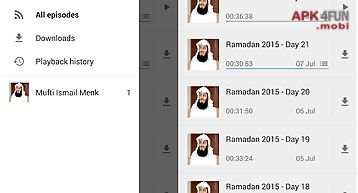 Mufti menk official audio app