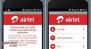 My airtel: recharge, pay bills for Android free download from Apk