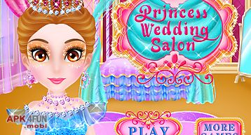 Princess salon wedding games