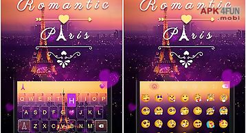 Romantic pairs emoji keyboard