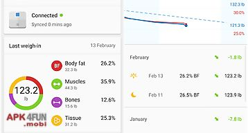 Runtastic libra weight tracker