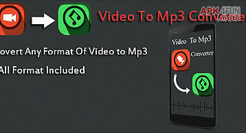 Video to mp3 convertor