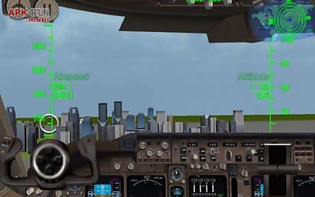 3d airplane flight simulator