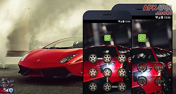 Applock theme - lamborghini