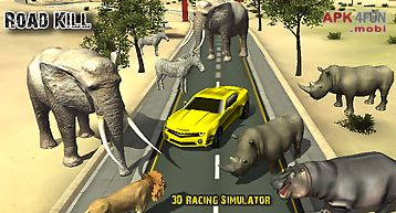 Road kill 3d racing