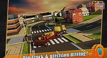 Transport trucker 3d